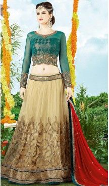 Beige Color Net A Line Style Designer Lehenga Choli | FH499976487 #heenastyle, #designer, #lehengas, #choli, #collection, #women, #online, #wedding , #Bollywood, #stylish, #indian, #party, #ghagra, #casual, #sangeet, #mehendi, #navratri, #fashion, #boutique, #mode, #henna, #wedding, #fashion-week, #ceremony, #receptions, #ring , #dupatta , #chunni , @heenastyle , #Circular , #engagement