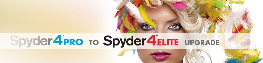 Spyder4PRO to ELITE Upgrade - If you weren't sure how much control you wanted to have over your Datacolor calibrated display, this quick upgrade will save you the money