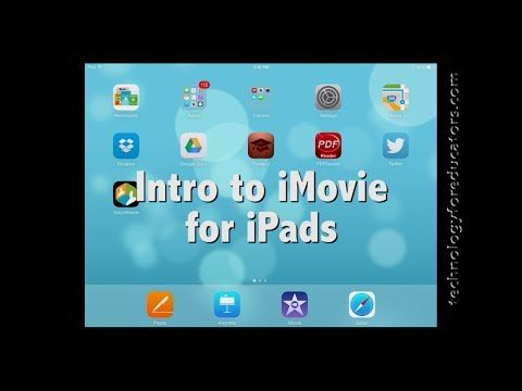 Intro to New iMovie for iOS on the iPad YouTube Ipad