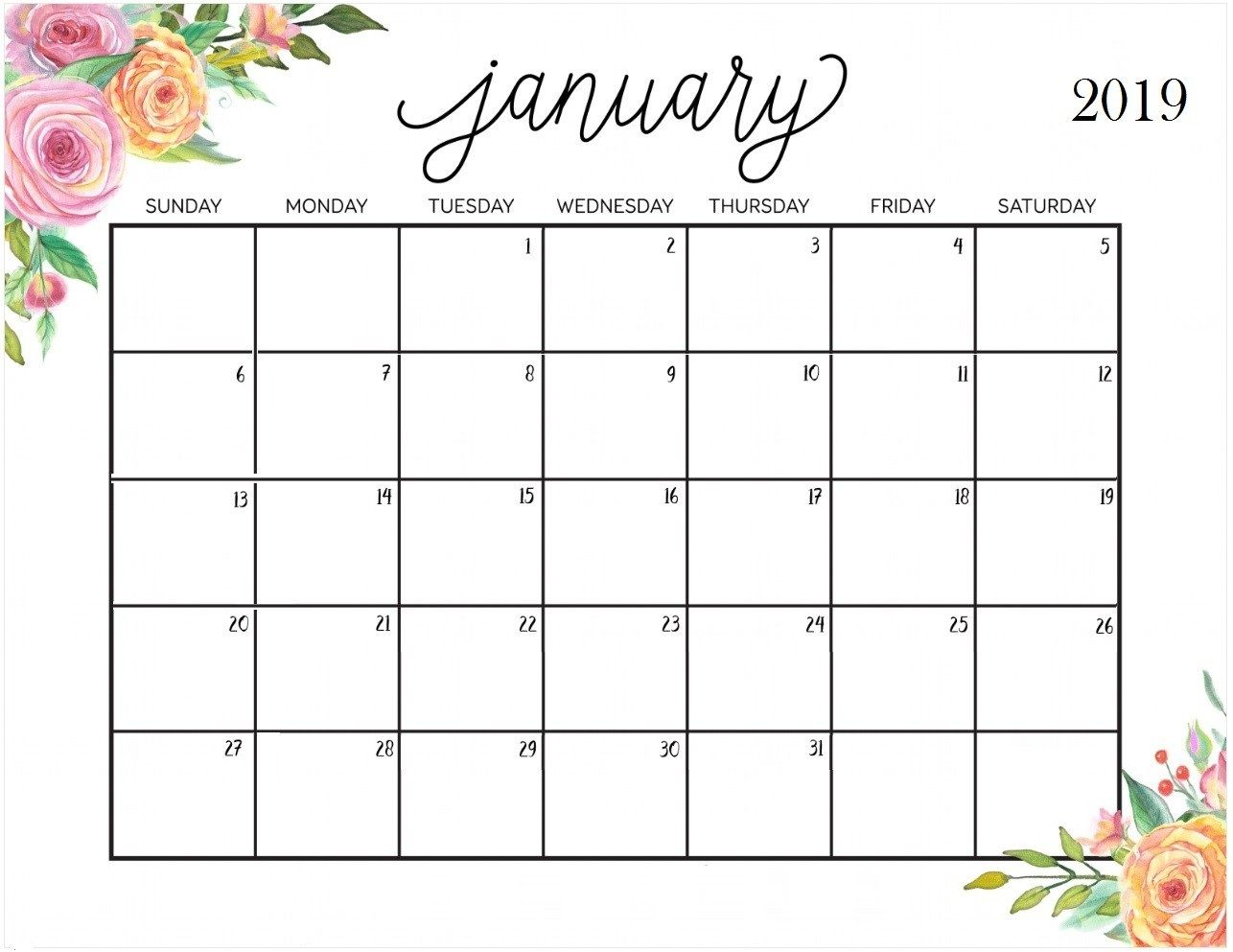 January 2019 Google Calendar With Printable Holidays With Images