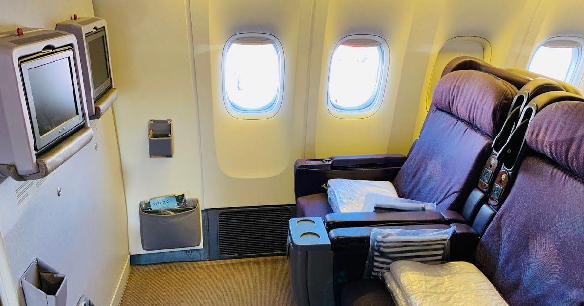 Review LATAM LA841 Business Class Boeing 777200 Santiago