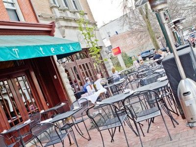 Teca West Chester Pa Sidewalk Seating Outside Eating
