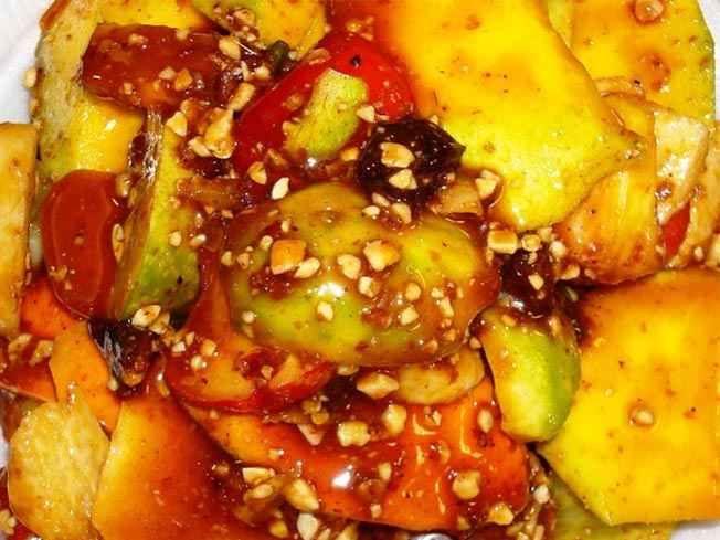 Bumbu Rujak Kacang Resep Masakan Indonesia Masakan