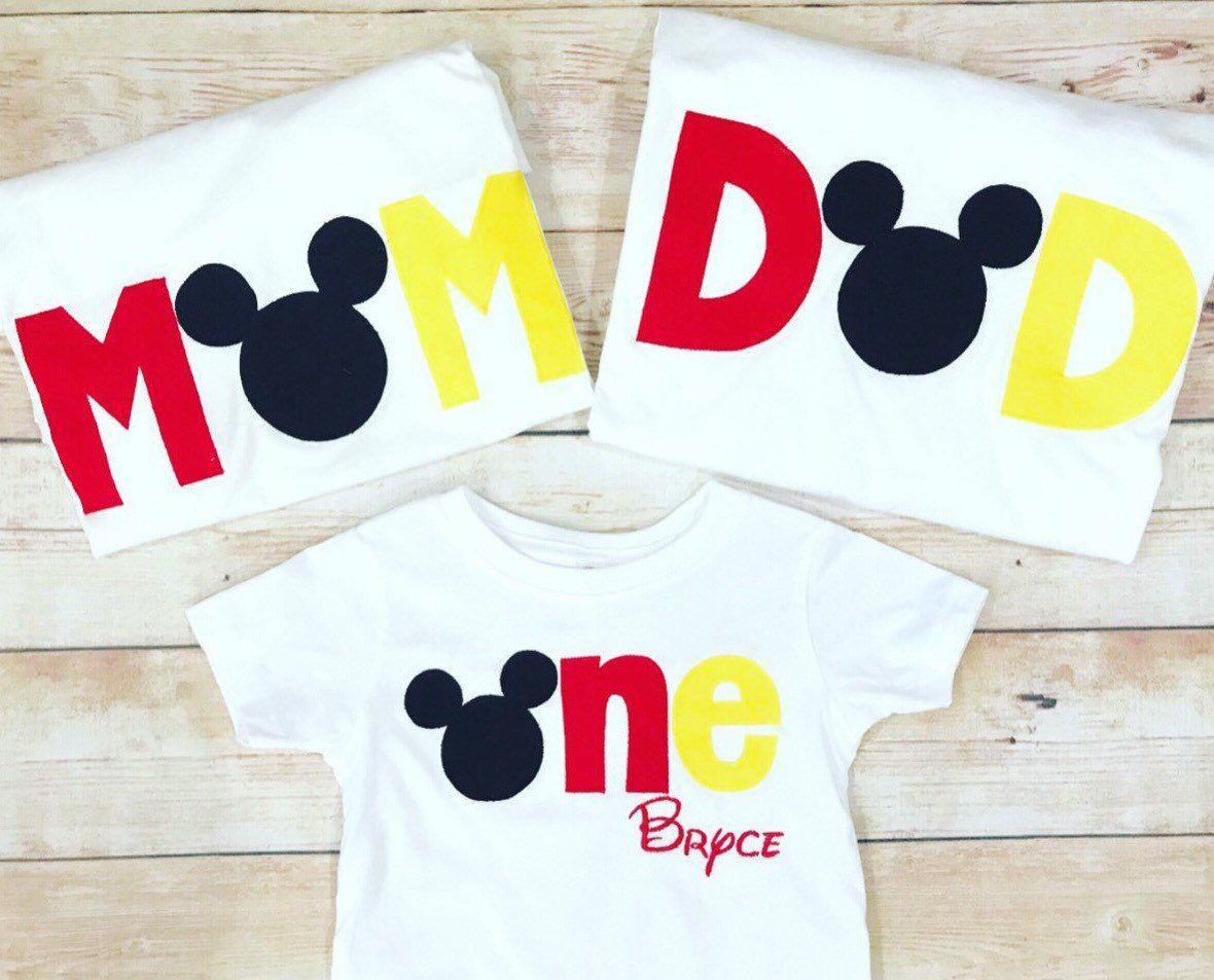 Disney Family Shirts Mickey Mouse Minnie Mouse Family