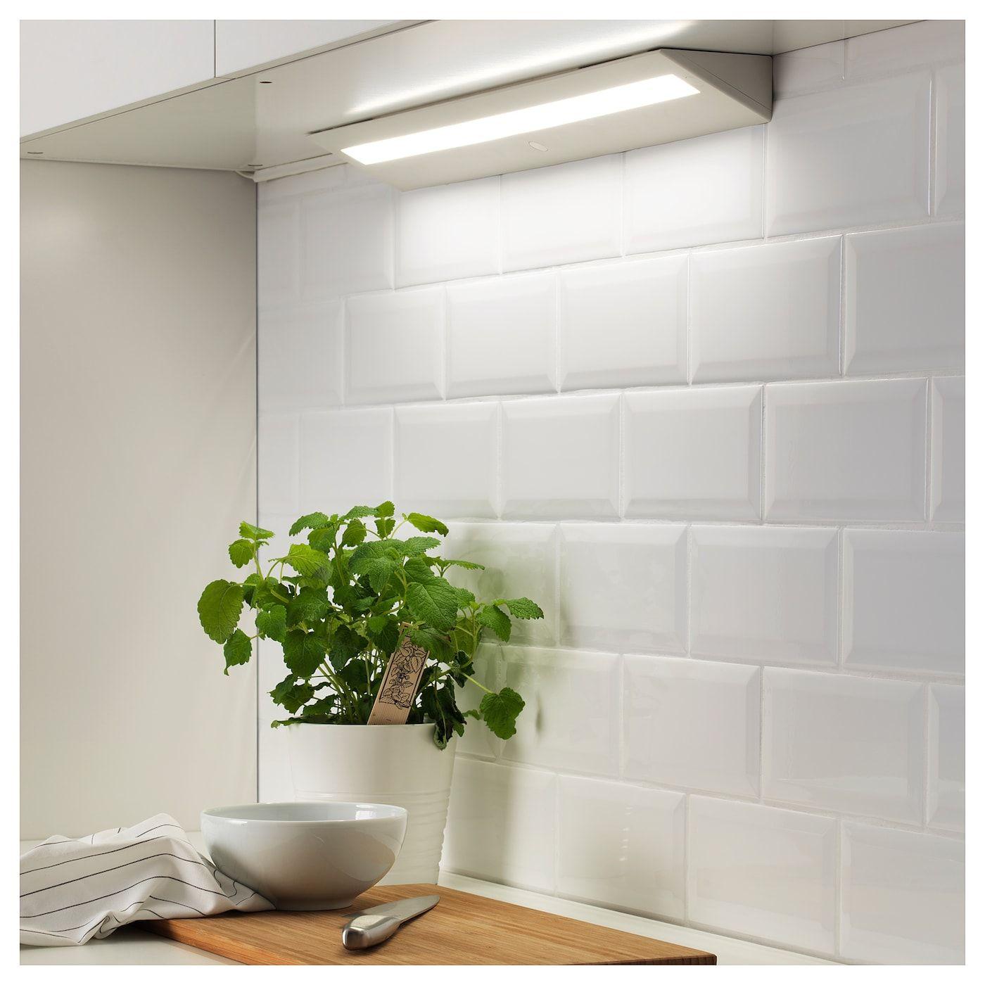 SLAGSIDA Arbeitsbeleuchtung, LED weiß  Arbeitsplatte, Led und