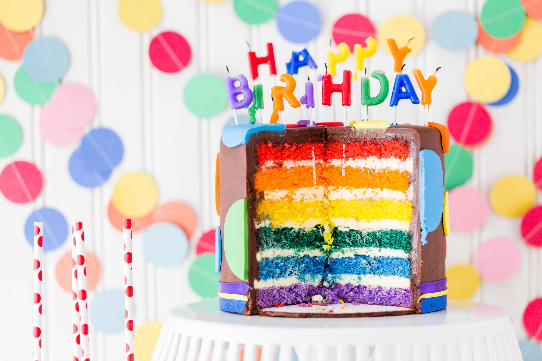 Видео открытка с днем рождения с тортом, россии