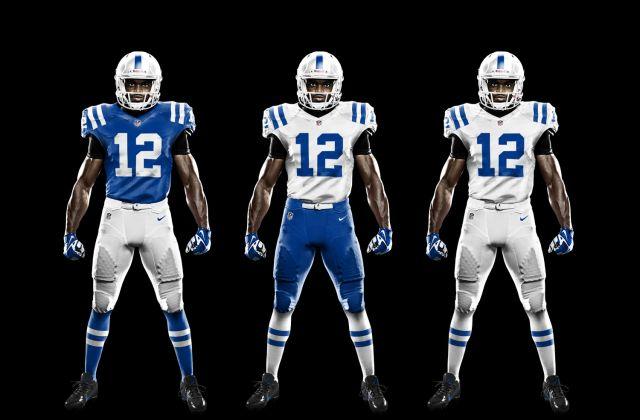 Uniforms New Uniforms 32 Nfl Teams Colts