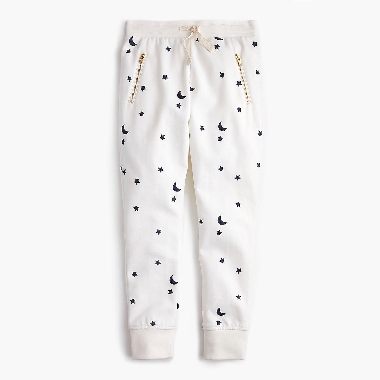 SILVER STAR Baby Sweatpants black