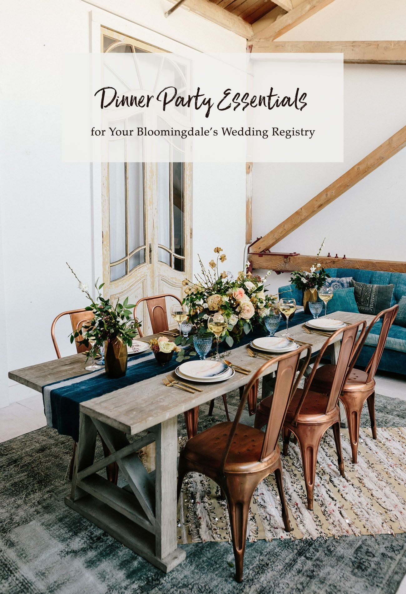 Dinner Party Registry Essentials with Bloomingdale's
