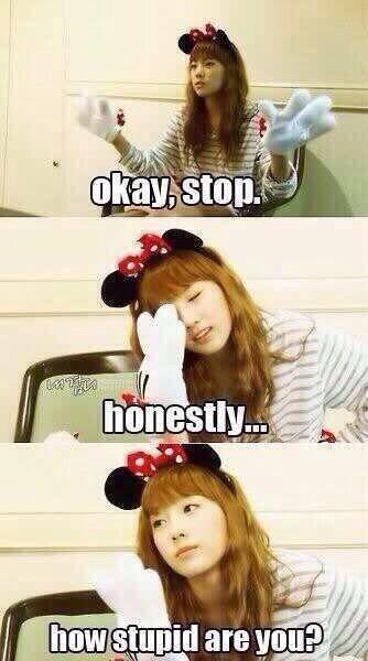 SNSD Taeyeon meme