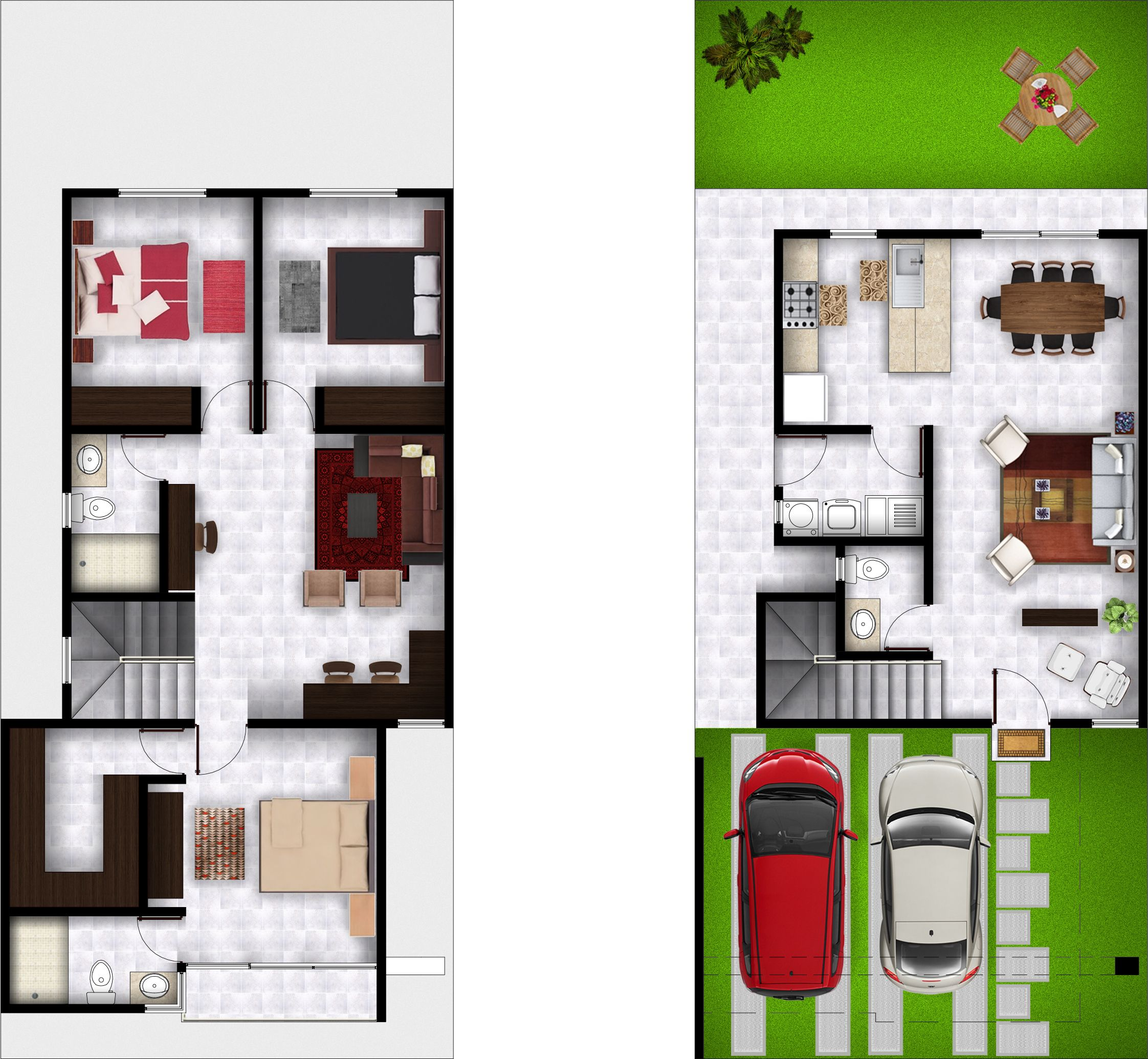 Casas Villa Montana Casas Planos De Casas 3d Casas De Dos Pisos