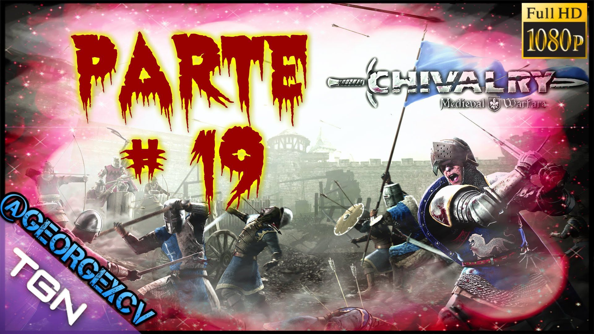 Chivalry Medieval Warfare let's play #19 1080p 2.0 @georgexcv