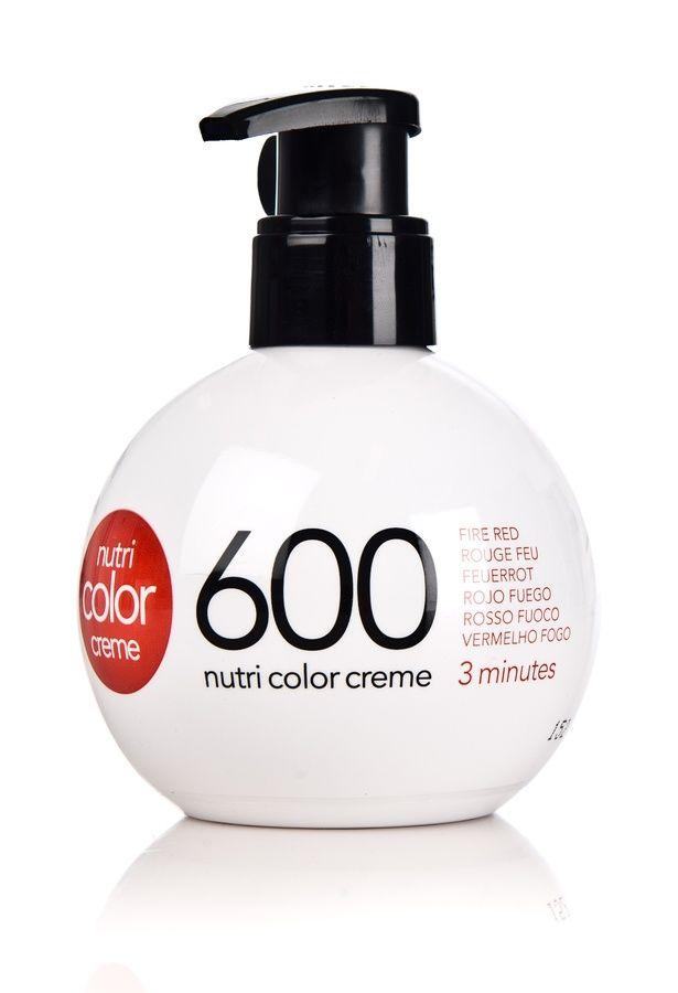 revlon nutri color creme 600 fire red