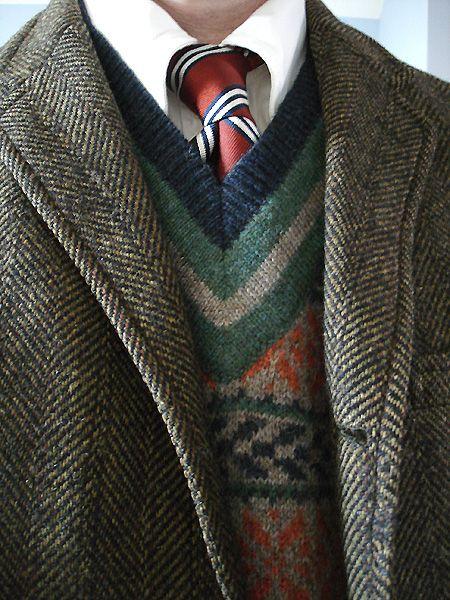 Vintage Deansgate 3/2 tweed jacket for Blackburn's of Delaware ...