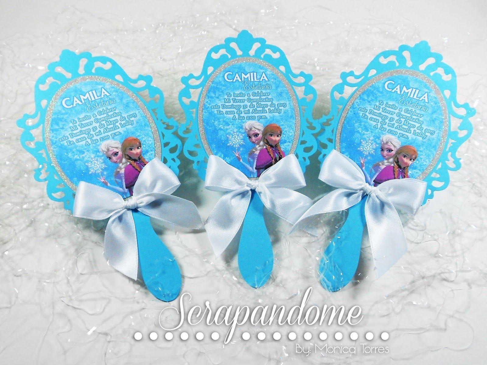 Espejo De Frozen Buscar Con Google Invitaciones De