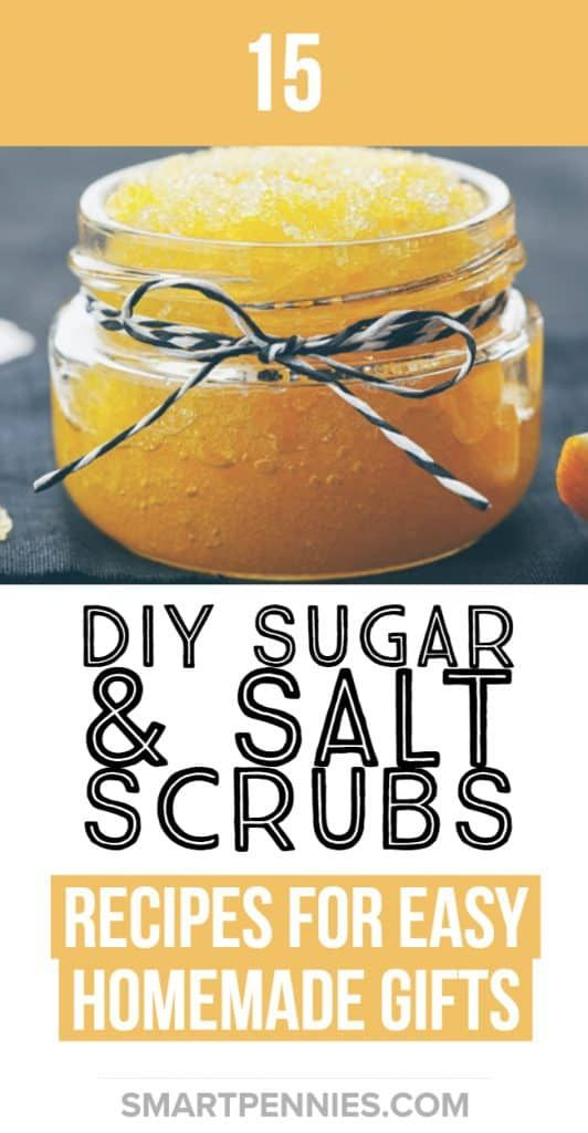 15 Easy DIY homemade sugar and salt scrubs (+Recipes) - Improve Your Money Habits to stop struggling with money