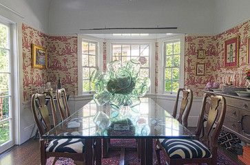 Stunning Norwegian Chandelier As The Table Centerpiece Chairs Re Covered In A Marimekko Fabric