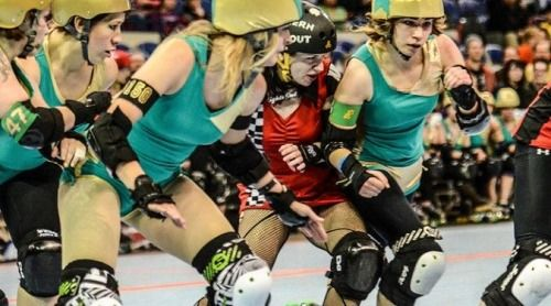#rollerderby