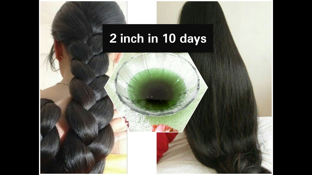 Grow Thicker And Longer Hair In  Days Coconut Tulsi Herbal Oil Stop