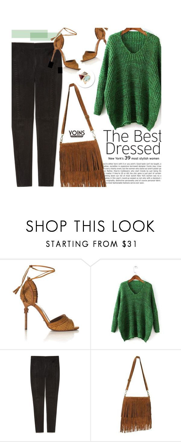"""""""Yoins 19/2.2"""" by merima-kopic ❤ liked on Polyvore featuring Sergio Rossi, Rebecca Minkoff, yoins and yoinscollection"""