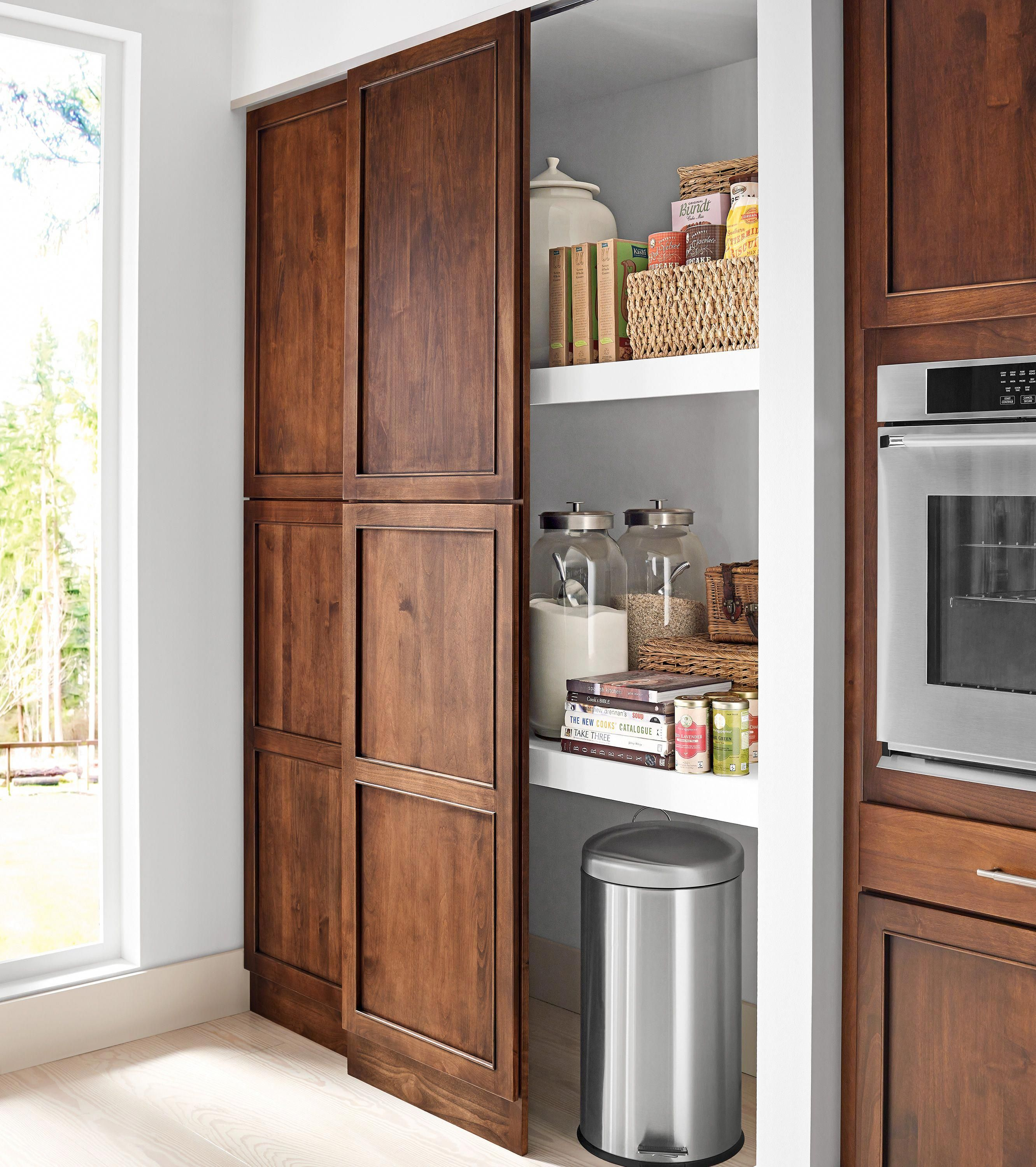 Read This Before You Put In A Pantry Kitchen Trends Sliding