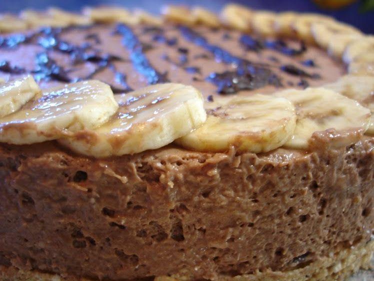 Pastel de Coco y Banana - Recetas Brasileñas