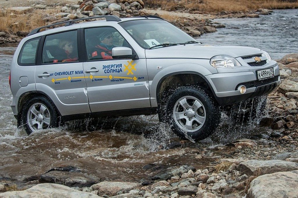 АИС презентует новую версию Chevrolet Niva
