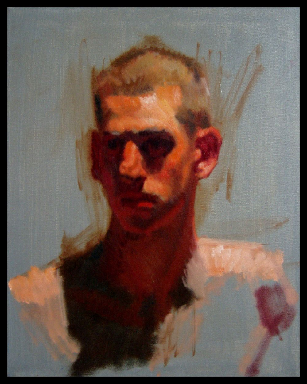 'Gallon' by Kerry Dunn. Oil on canvas.