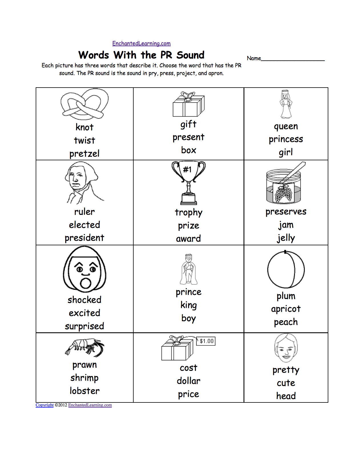 Worksheet For Teaching Phonics
