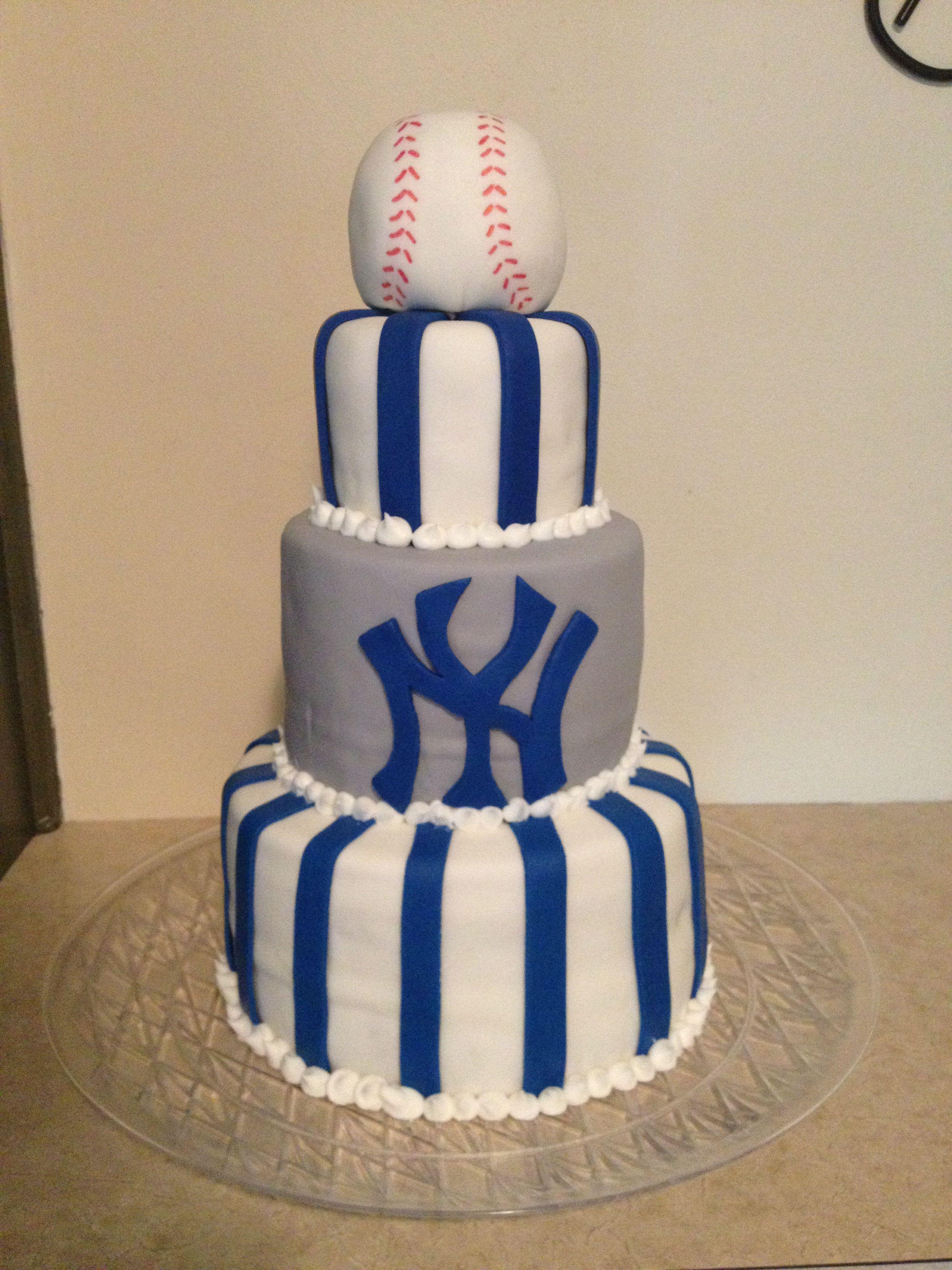 Yankees Baseball Theme Cake My 55th Birthday Cake Gluten