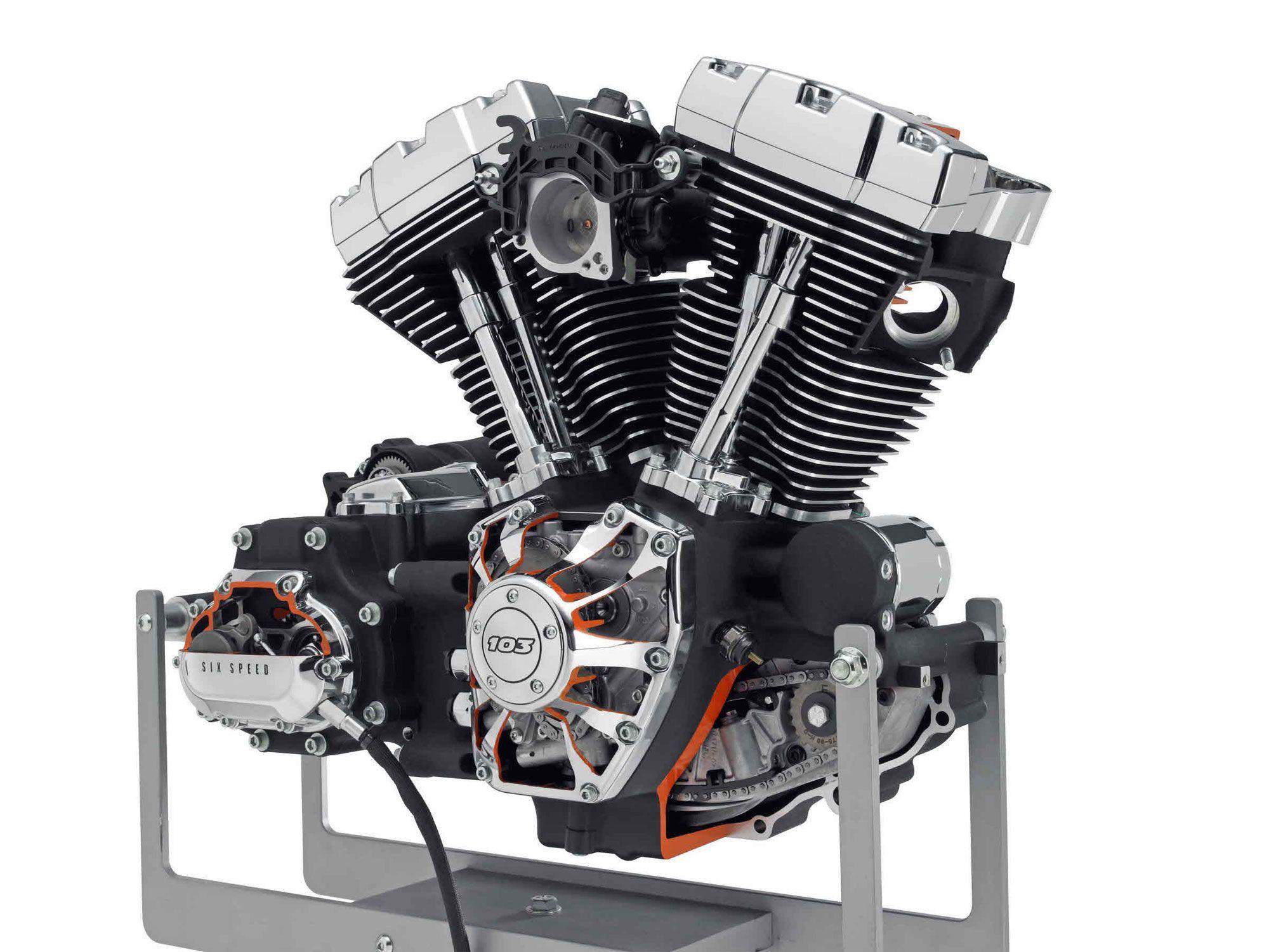 Engine 2016 harley davidson s
