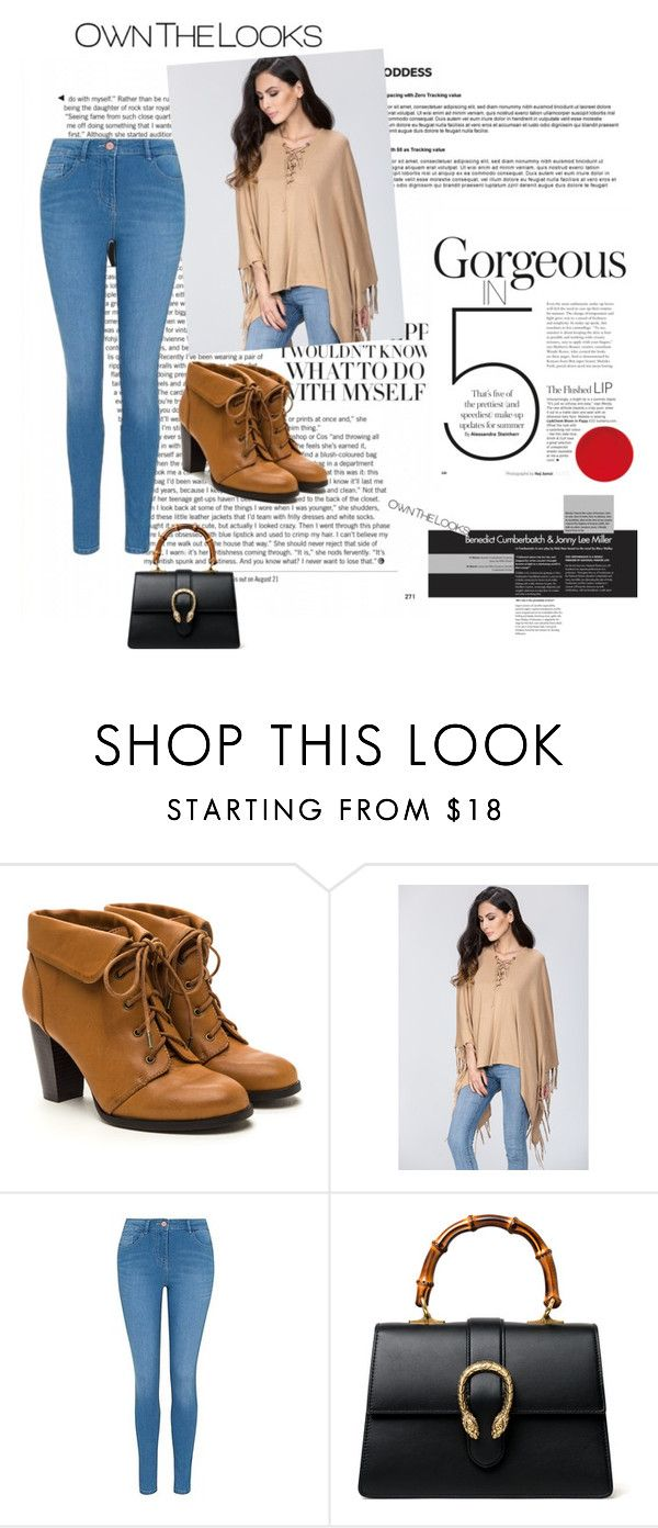 """""""ownthelooks49"""" by gold-phoenix ❤ liked on Polyvore featuring George, Gucci and ownthelooks"""