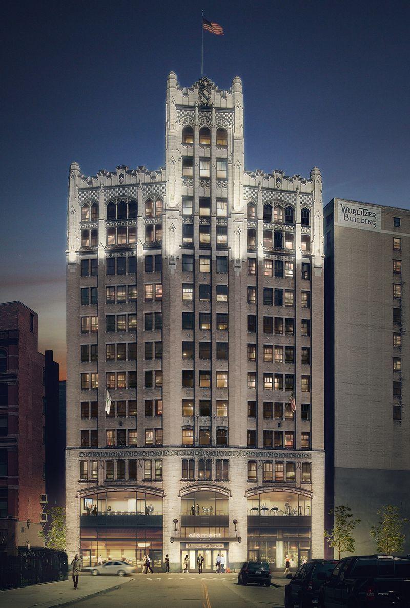 Metropolitan Building Hotel Redevelopment Moving Forward Detroit