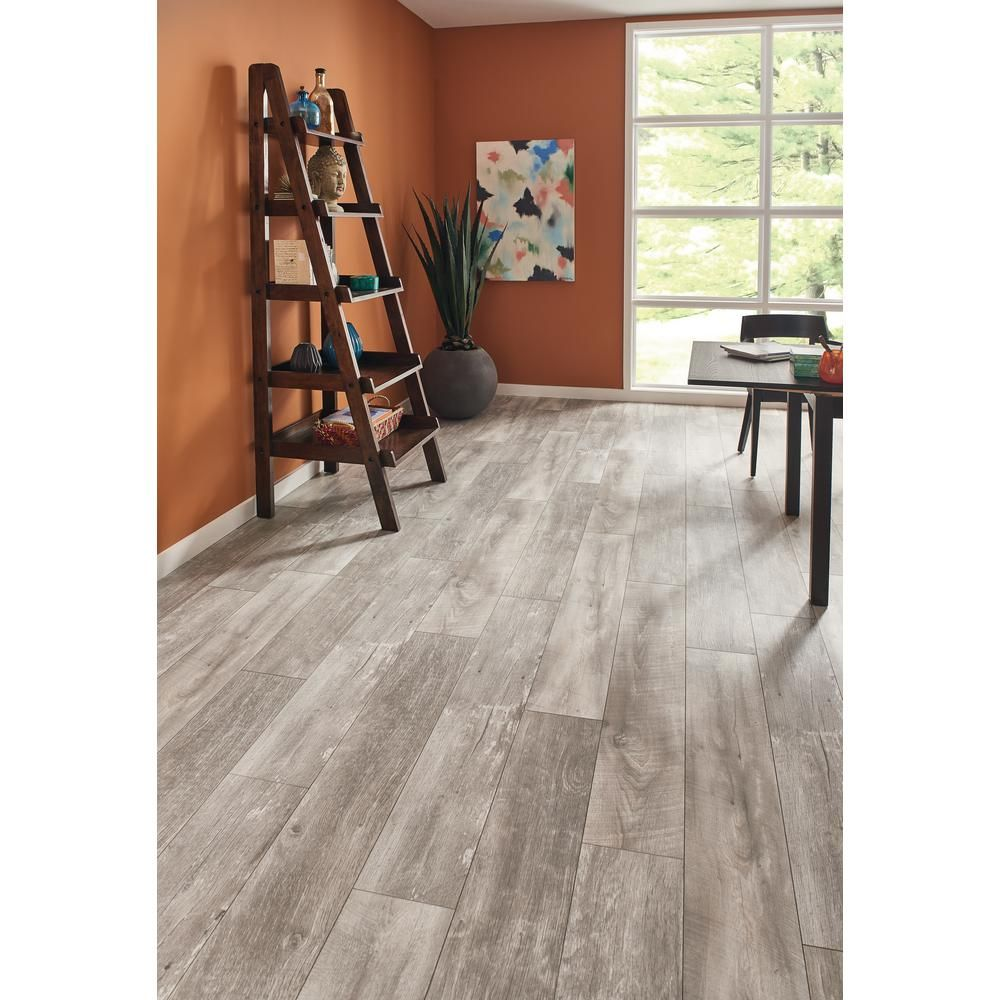 Lifeproof Folkstone Oak 12 Mm Thick X 8 03 In Wide X 47 64 In Length Laminate Flooring 15 94 Sq Ft Case 361241 25621wr The Home Depot Flooring Laminate Flooring Wood Laminate Flooring