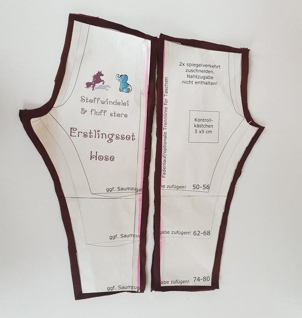 Photo of kostenloses Schnittmuster & Nähanleitung: Babyhose mit dekorativen Taschen 50-56-62-68-74-80-86-92 | Stoffwindelei.de
