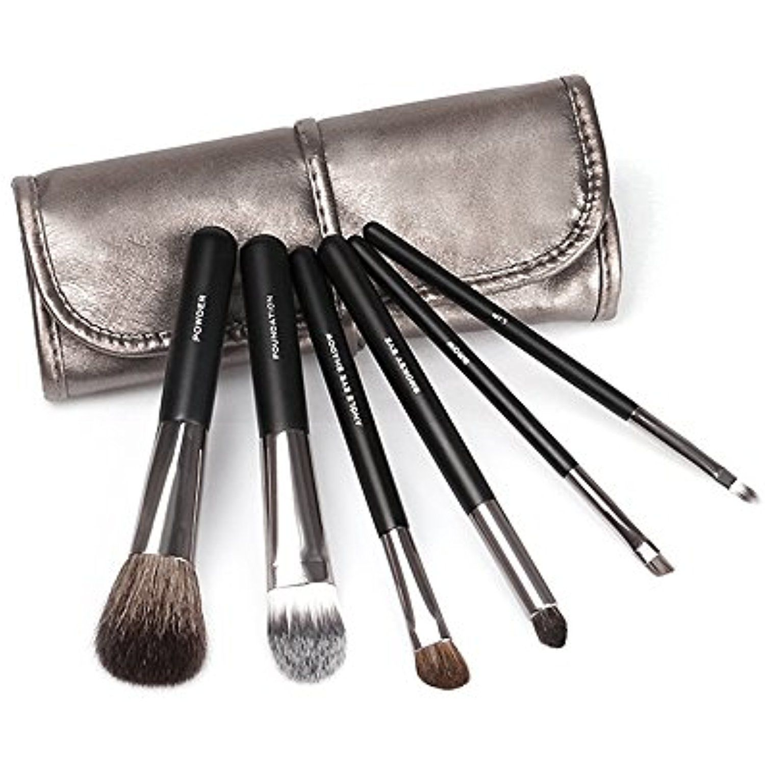Bellexixi 6 Piece Travel Makeup Brush Set Professional Essential Face And Eye Makeup Brushes Find Out More About The Grea Makeup Brush Set Eye Makeup Brushes