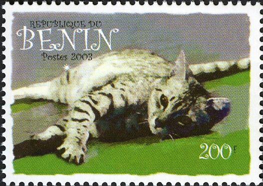 Benin - 2003 cat postage stamp