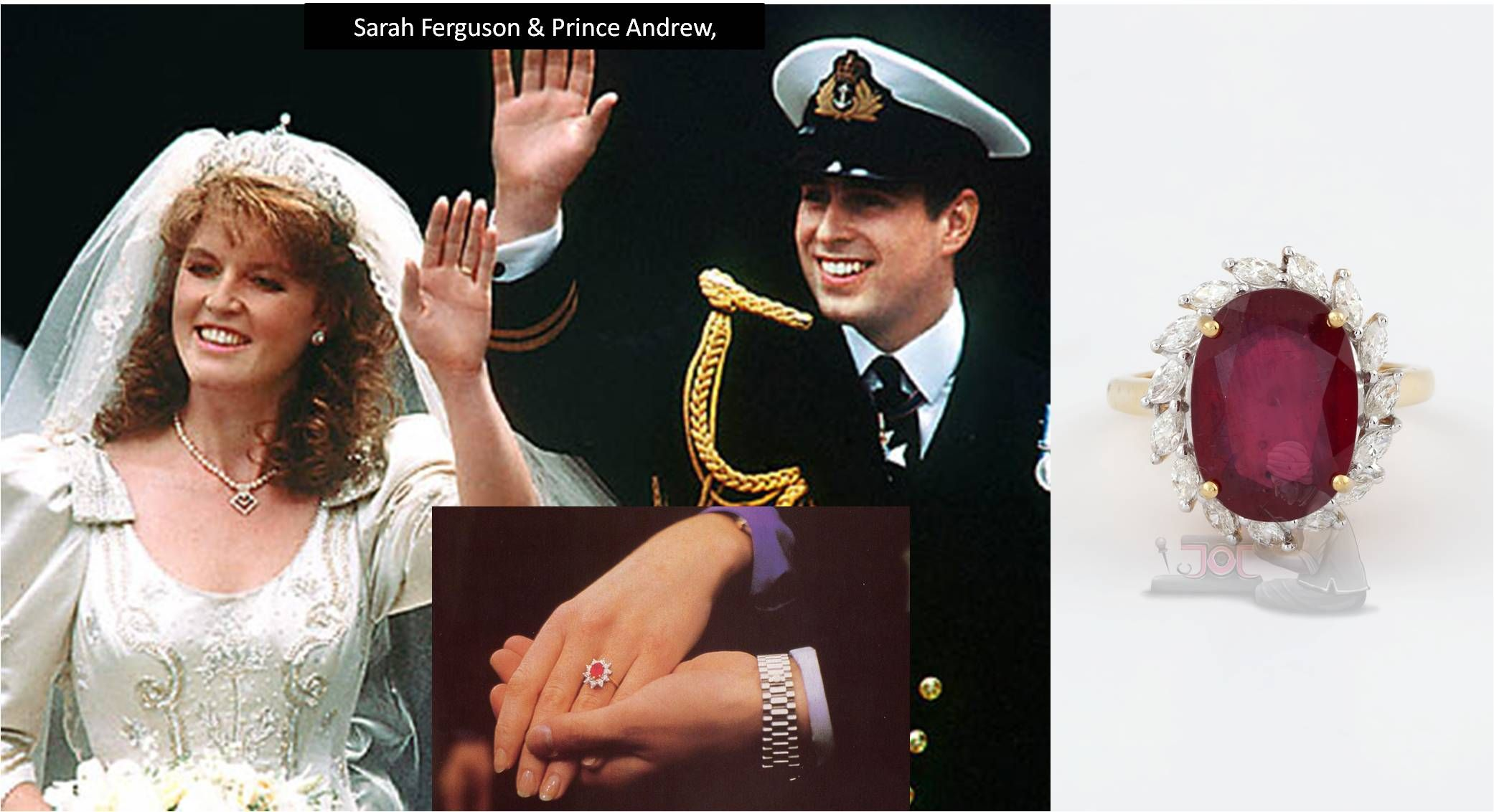 Sherlock Opens History Files Did You Know Prince Andrew Gifted Ruby Engagement  Ring To His