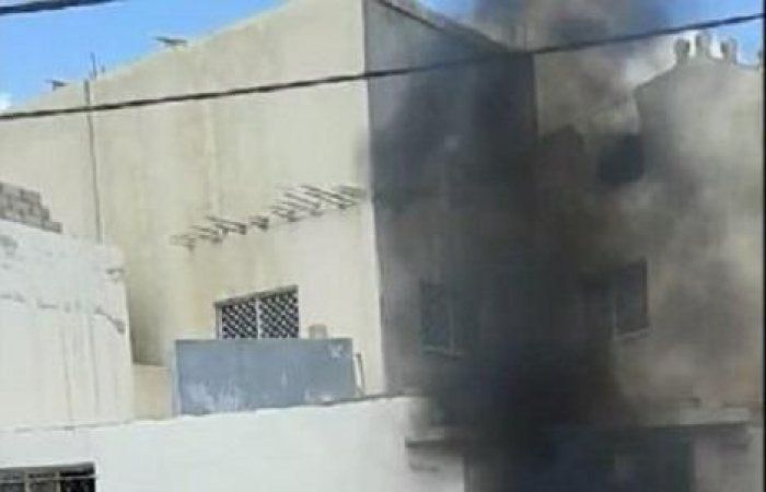 اخبار اليمن خلال ساعة - بالصور: سكان مدينة أردنية يحرقون صور عبدالملك الحوثي