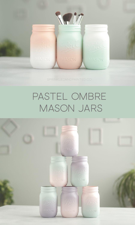 43++ Diy painted mason jars inspirations