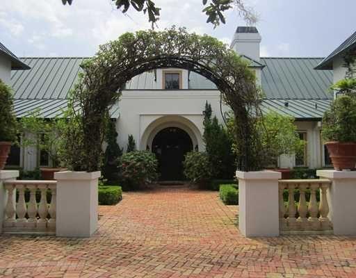 entrance to a barn.