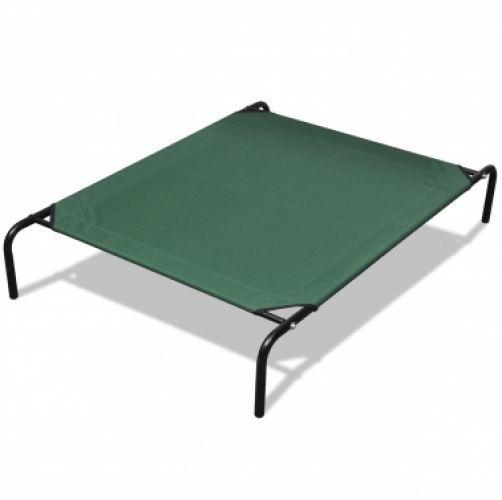 Elevated Pet Bed With Steel Frame 90 X 60 Cm Dog Bed Frame Dog Hammock Pet Bed