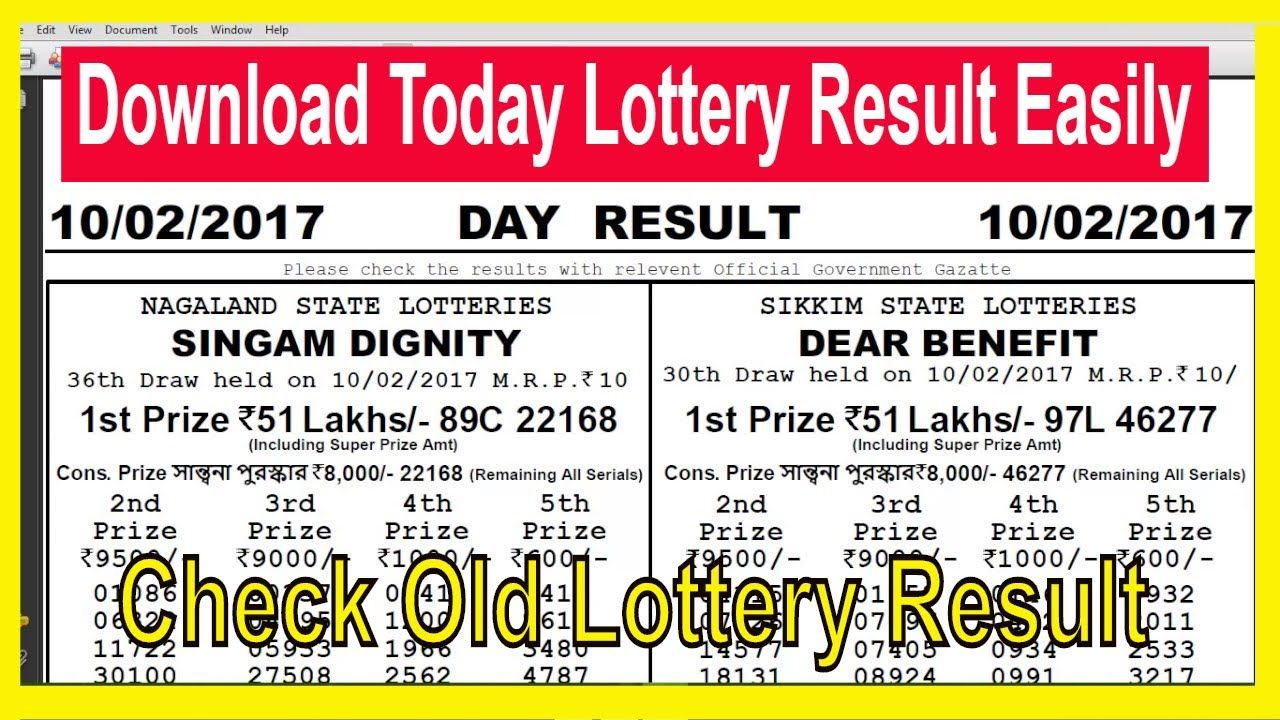 How To Download Today Result & Old Result 11 55 AM 4 00 PM 8 0