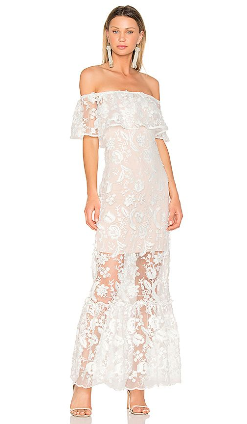 5ff2395e80548 Shop for Backstage The Garden Party Dress in White at REVOLVE. Free ...