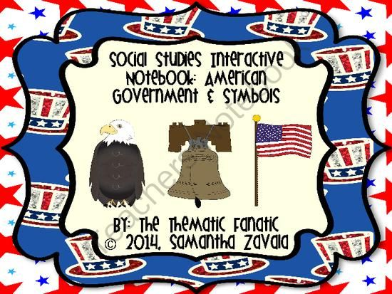 Social Studies Interactive Notebook American Government