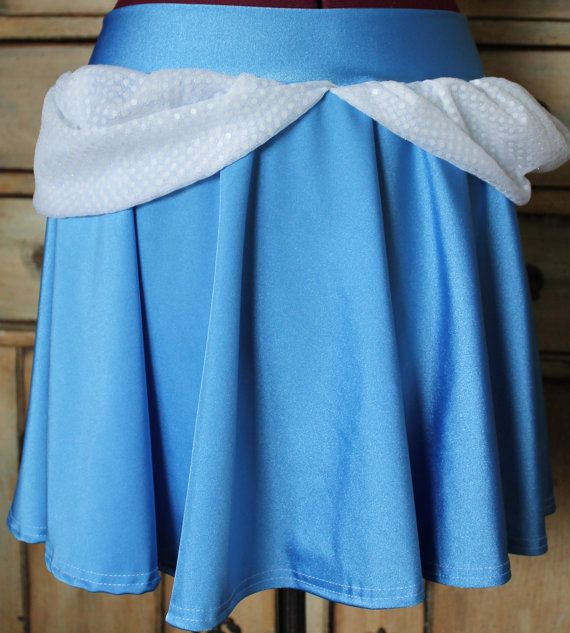 Cinderella Running skirt designed with the athlete by