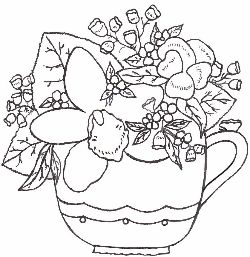 flower_cup.jpg (837×861) | stitchery ideas | Pinterest
