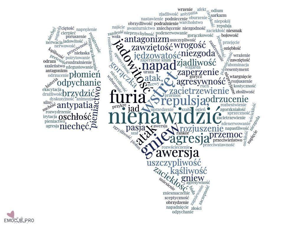 Encyklopedia Emocji Nienawisc Emocje Zycie Warte Przezycia In 2020 Words Word Search Puzzle Take Care