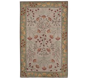 Malika Persian Style Tufted Wool Rug 10x14 Porcelain