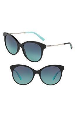 5de2db21370c TIFFANY   CO. Designer Diamond Point 55mm Gradient Cat Eye Sunglasses